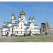 Храмовый комплекс на пересечении ул. Ленина и ул. Омелькова