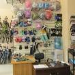 Велосипедные шлемы, перчатки