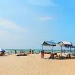 Пляж Гостевой дом Золотое руно в Витязево