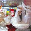 Сахарные фигурки для свадебных тортов