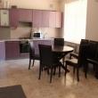 Кухня-столовая в коттедже Джемете