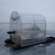 Лодка для зимней рыбалки из ПНД