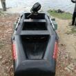 Лодка из ПНД с лодочным мотором