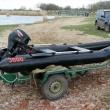 Транспортировка моторной лодки из ПНД