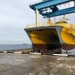 Спуск на воду корабля, Морской порт, Анапа