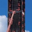Многоразовая пластиковая опалубка для квадратных колонн