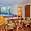 Сауна с бассейном в 3-х комнатном номере Люкс Пансионат Шингари в Сукко