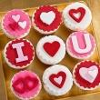 Пирожные I love you