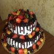 Торт фрукт овый