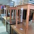 Деревянные столы, стулья, Магазин мебели Уют, Анапа